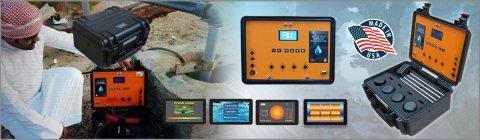 جهاز BR 700 PRO للتنقيب عن المياه الجوفية والابار الارتوازية عمق 700 متر