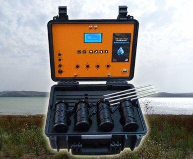 جهاز BR 700 PRO لكَشِّفْ المياة الجوفية وتحديد نوع المياة لعمق 700 متر تحت الأرض