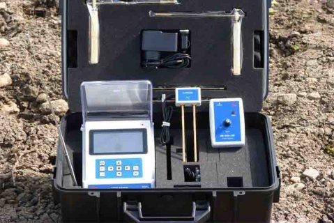 جهاز BR 500GW كاشف المياة الجوفية مع تحديد نوع المياة الموجودة لعمق 500 متر