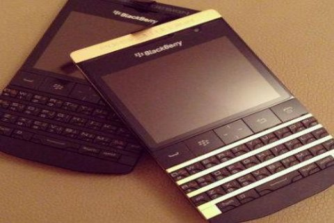 Special Pin and Arabic Keyboard Blackberry Q10 Gold