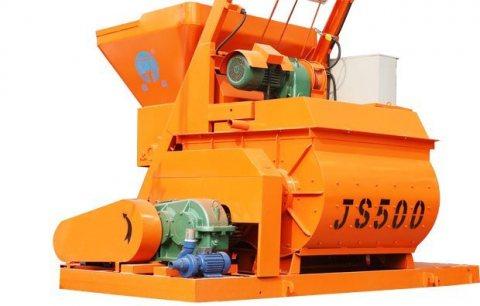 خلاط الخرسانة 25 م³ / ساعة,خلاط رمح التوأم