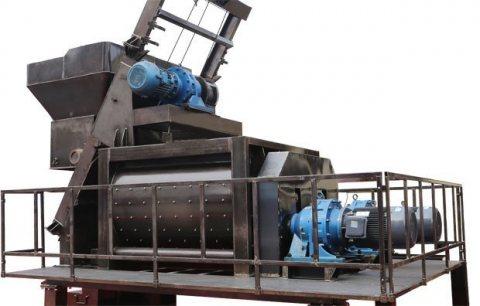 خلاط الخرسانة 90 م³ / سا,خلاط رمح التوأم,خلاط الخرسانة JS1500