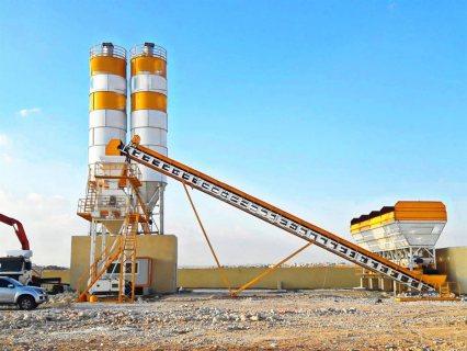 محطة خلط الخرسانة HZS50,محطة خلط الخرسانة 50 م³ / سا