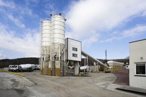 محطة خلط الخرسانة HSZ60,محطة خلط الخرسانة  60 م³ / سا