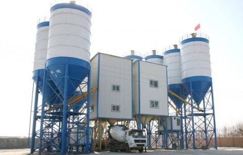 محطة خلط الخرسانة HZS120,محطة خلط الخرسانة 120 م³ / سا