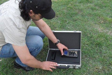 MF1100A جهاز الكشف عن الذهب والكنوز بعيد المدى