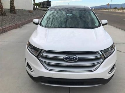 FORD EDGE - 2018 - WHITE - 142 KILOMETERS