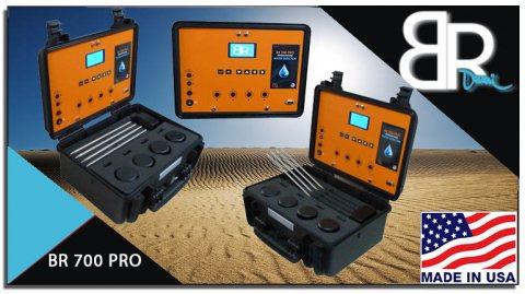 جهاز كشف المياة الجوفية والأبار الأرتوازية الأفضل على الأطلاق BR 700 PRO