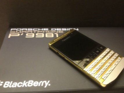 Buy Blackberry  Porsche Design P9981 with Arabic keyboard and v