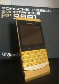 Vips Pins Blackberry Porsche Design Gold, Apple iPhone 5 Gold