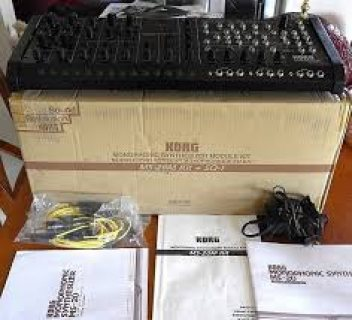 KORG MS-20M module kit + SQ1 Sequencer bundle