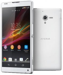 SONY XPERIA ZQ White/Black