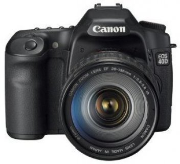 Canon EOS 40D 10.1MP DSLR Camera