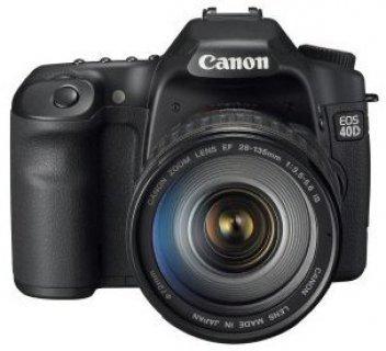 Canon EOS 40D 10.1MP DSLR Camera