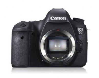 Canon EOS 6D 20.2 MP Digital SLR Camera – Black