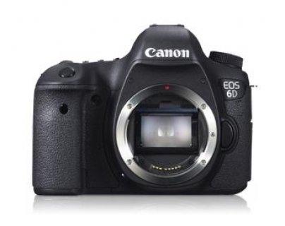 Canon EOS 6D 20.2 MP Digital SLR Camera – Black