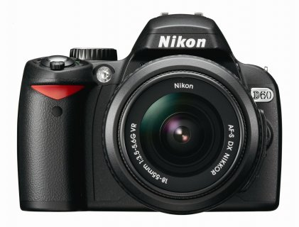 Nikon D60 10MP DSLR Digital Camera.