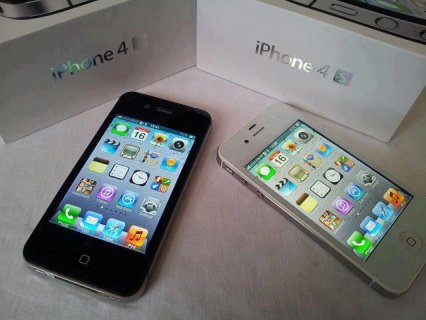 مصنع مقفلة - APPLE IPHONE 4S 16GB الأسود / 32GB