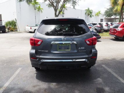 صور 2017 Nissan Pathfinder Platinum for sale  4
