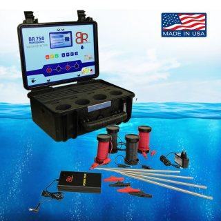 اقوى جهاز لكشف المياه الجوفية والابار - BR 750 - شركة بي آر دبي