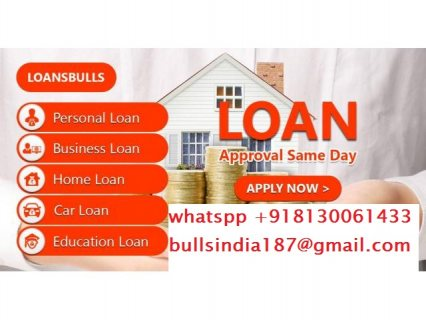 Apply for a loan now to solve your financial problem