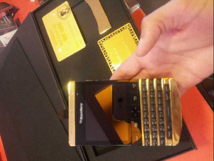 Bb porsche design with Arabic keyboard and Vip pin (2000 aed)