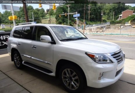 صور Almost brand New  Lexus LX 570 SUV model 2013/2014 is available  1