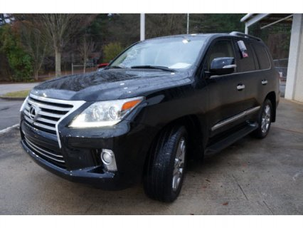 FOR SALE 2013 LEXUS LX 570 BLACK