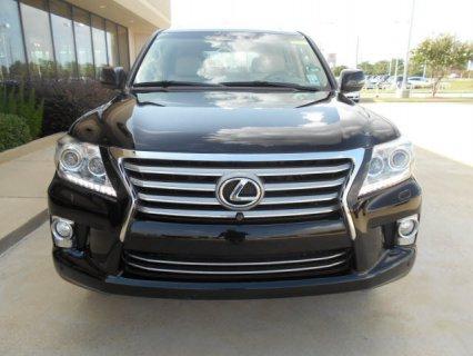 LEXUS LX 570 BLACK COLOR 2013