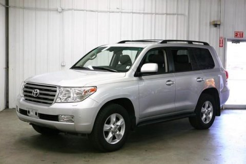 2011 TOYOTA LAND CRUISER CAR SILVER
