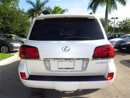 صور $2011 - LEXUS LX 570 SUV FOR SALE 3
