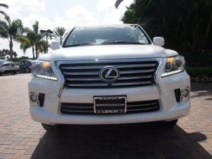 MY 2013 LEXUS LX 570, FOR SALE
