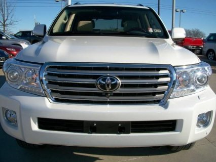 MY 2013 TOYOTA LAND-CRUISER, SUV FOR SALE