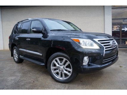 LEXUS LX 570 2013 FAMILY CAR