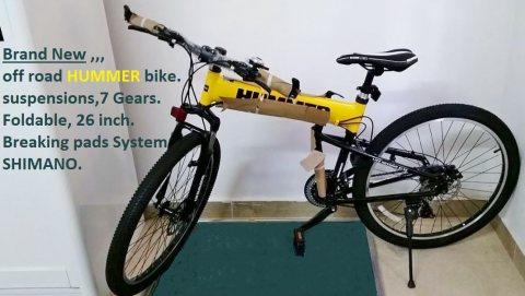 Off Road Hummer Bike