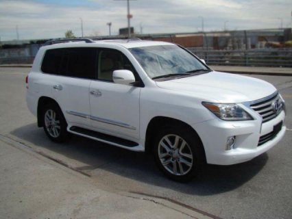 Fairly Used 2013 Lexus LX 570 V8
