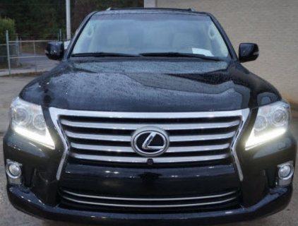 2013 LEXUS LX 570 FAMILY CAR