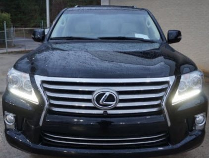 2013 LEXUS LX 570 FAMILY CAR - GCC SPEC