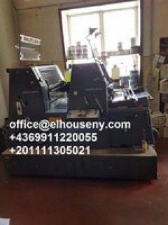 2ماكينة طباعة هايدلبرج جي تي1992