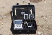 جهاز BR 800 P لكشف  الذهب الخام  والكنوز وجميع المعادن لعمق 50 م , دائري 2000 م