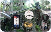 GPX 5000 الجهاز الصوتى المميز الكاشف عن الذهب بمختلف الاحجام لعمق 3 متر