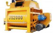 خلاط الخرسانة JS2000,خلاط الخرسانة 120 م³ / سا,خلاط رمح التوأم