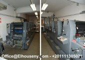 للبيع ماكينة Heidelberg GTO 52-5 FP 5 لون بسعر مغرى جدا